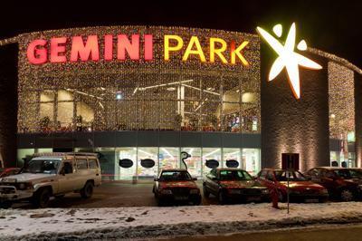 Stoisko firmowe w Gemini Park Tarnów