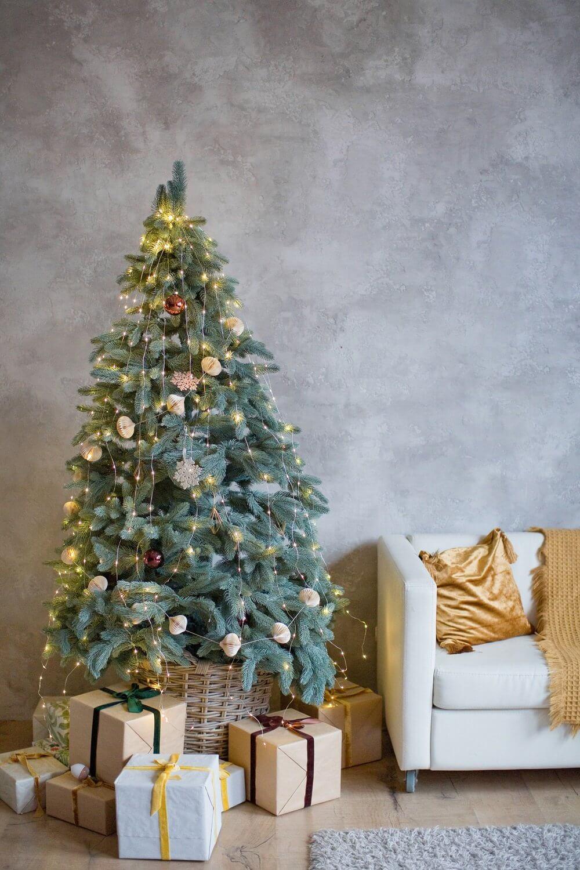 Christmas interior living room